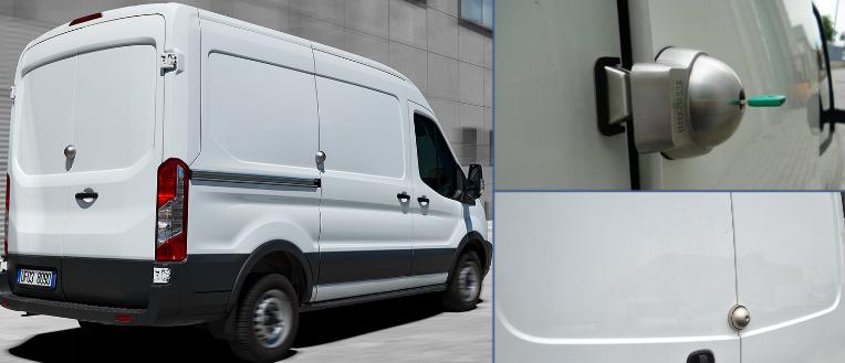 véhicule utilitaire, serrure supplémentaire, extra sûr