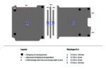 Tekening van de Zevim vloerplaat voor de Peugeot Expert, L3, SDR